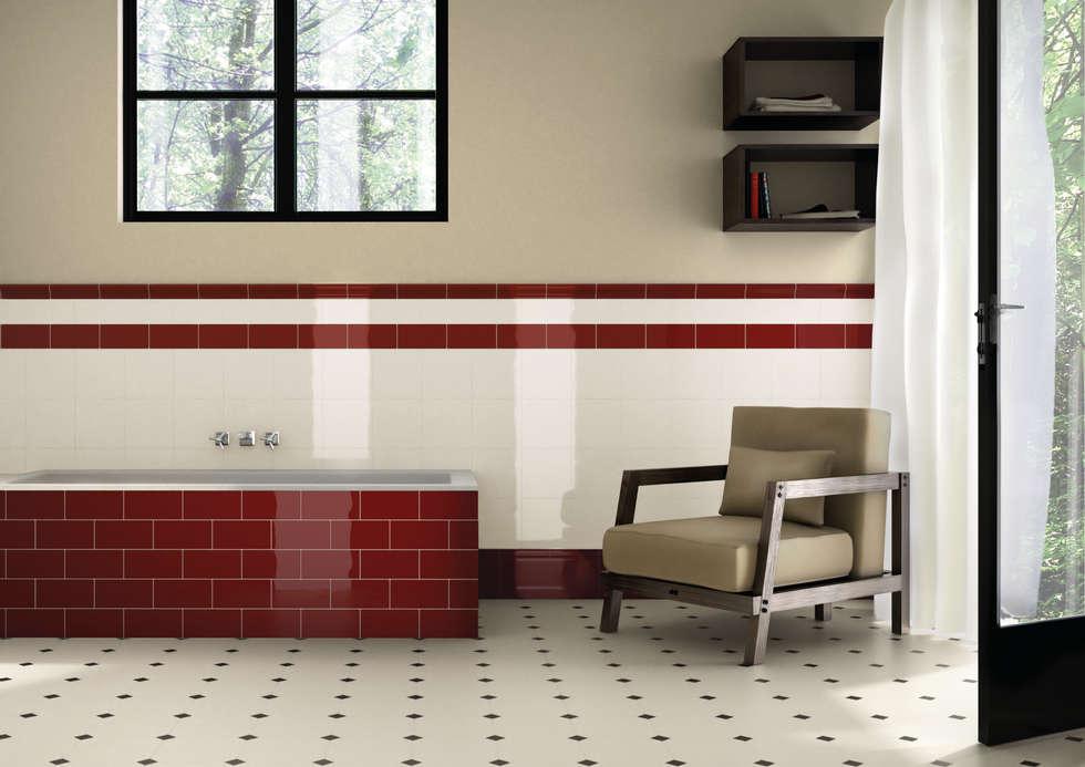 Vintage bagno in stile in stile classico di ceramiche grazia homify