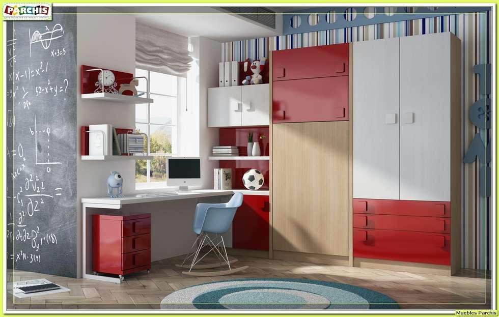 Ideas im genes y decoraci n de hogares homify - Habitaciones juveniles camas abatibles horizontales ...