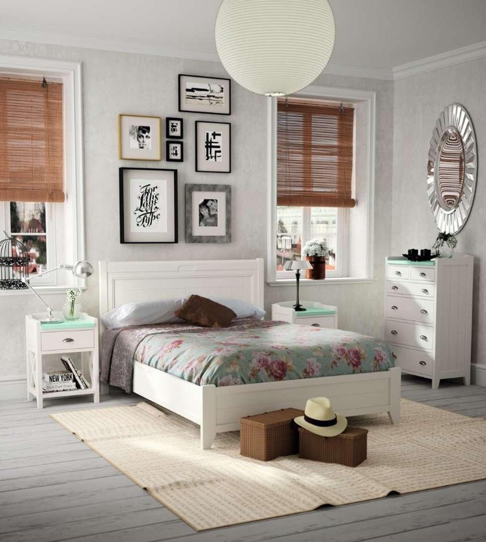 Fotos de decoraci n y dise o de interiores homify - Dormitorio retro ...