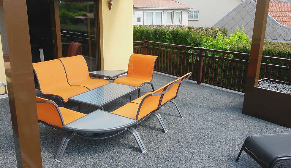 Terrasse de style  par WARCO Bodenbeläge