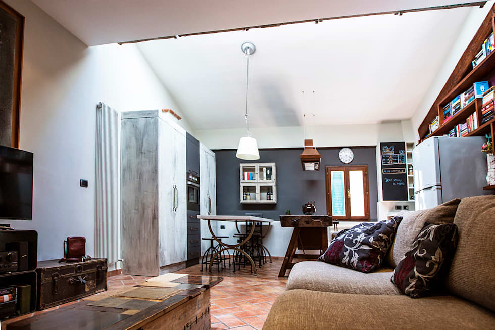Idee arredamento casa interior design homify for Arredamento rustico industriale
