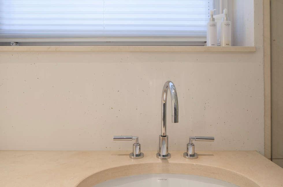 Wohnideen interior design einrichtungsideen bilder for Marmorputz bad