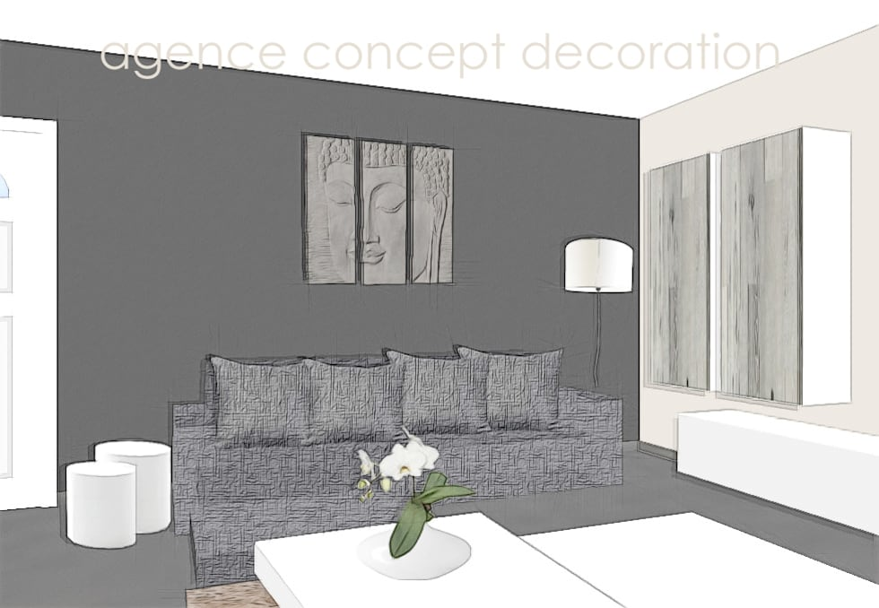 Wohnideen interior design einrichtungsideen bilder for Agencement sejour