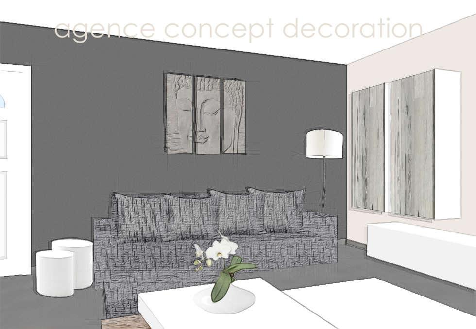 Wohnideen interior design einrichtungsideen bilder for Agencement sejour