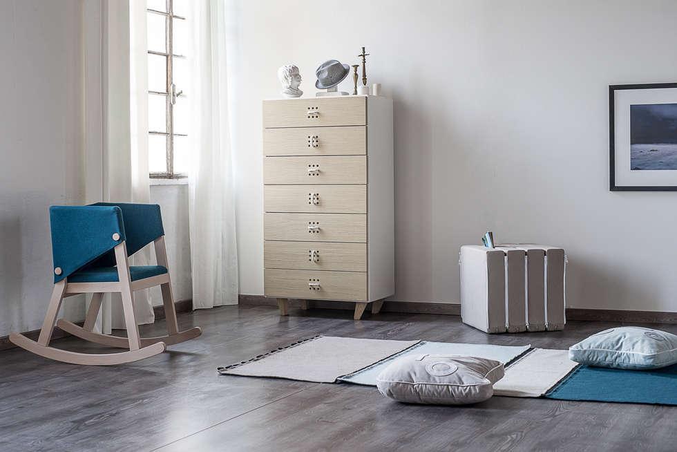 Nodo settimanale: camera da letto in stile in stile scandinavo di ...