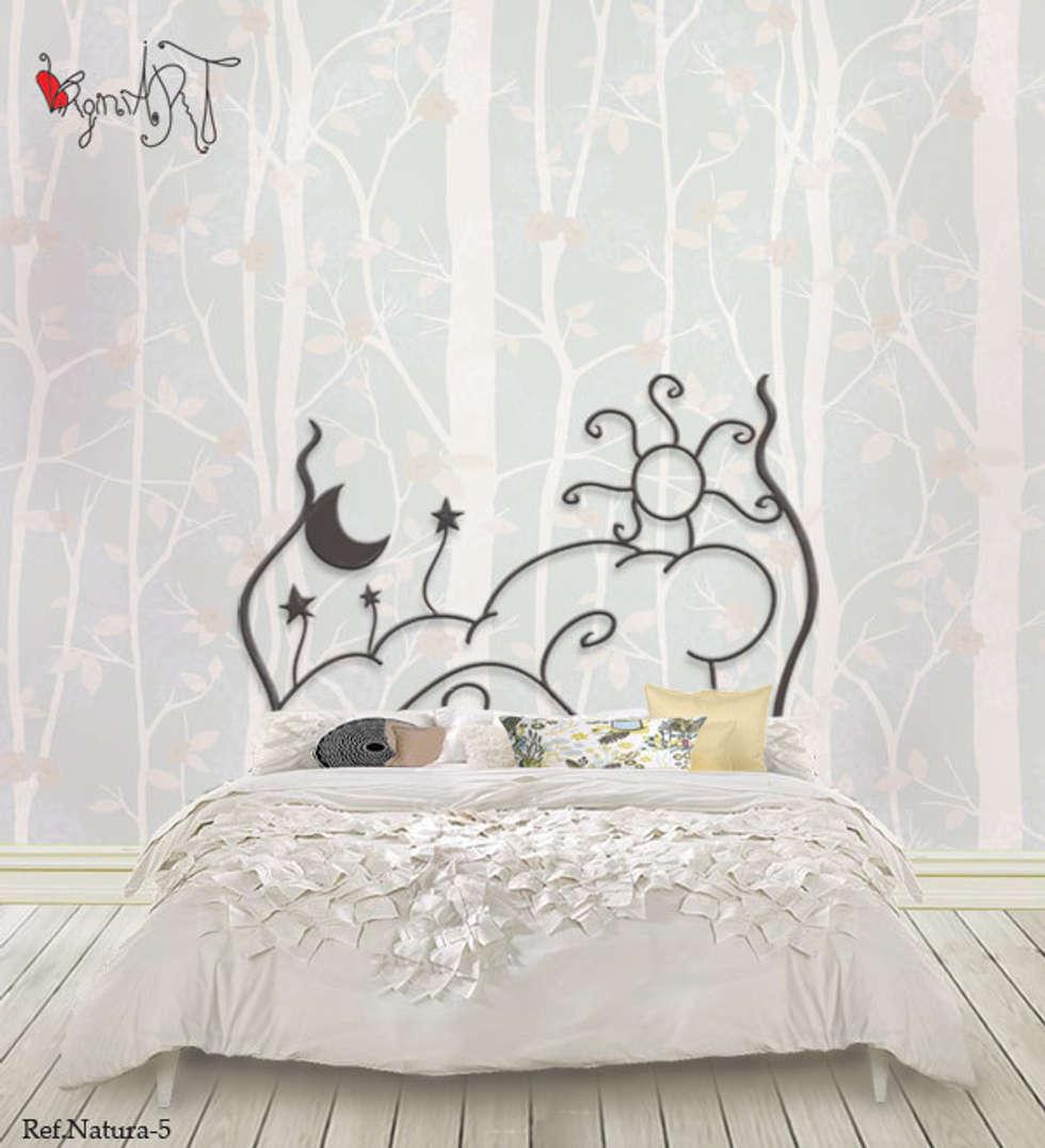 Wohnideen interior design einrichtungsideen bilder - Cabeceros metalicos para camas ...