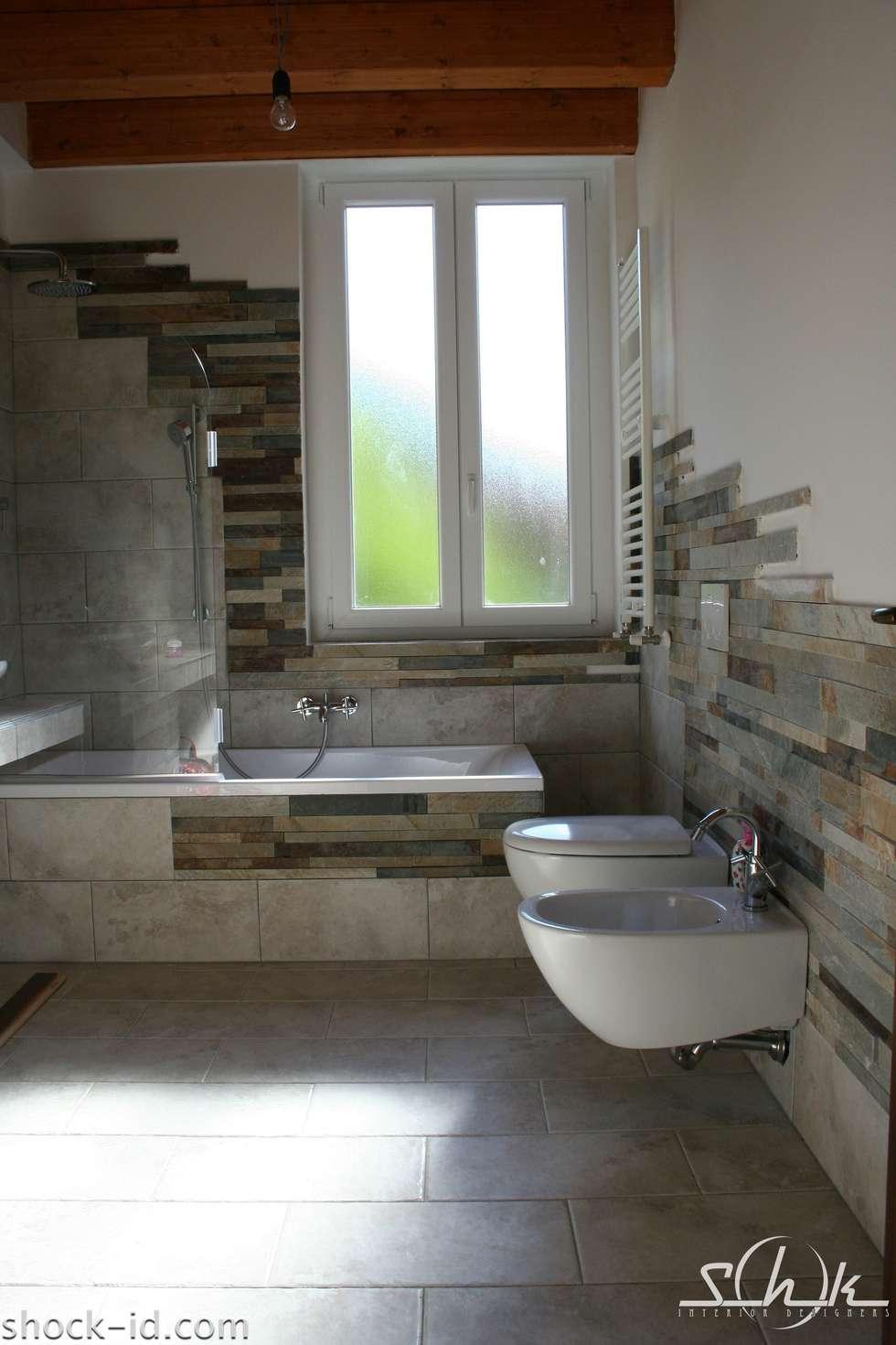 Wohnideen interior design einrichtungsideen bilder - Bagno rustico foto ...