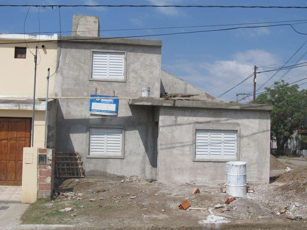 PROCREAR - AMPLIACIÓN: Casas de estilo minimalista por BENGAL CONSTRUCCIONES