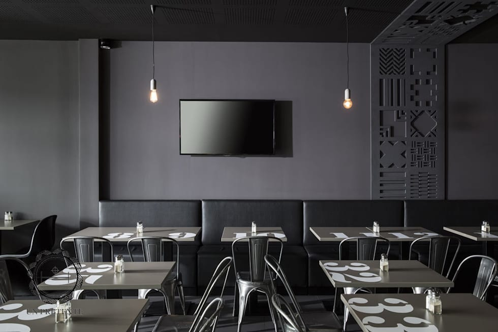 Restaurant Frit'House: Restaurants de style  par Soraya Deffar / Un Pretexte