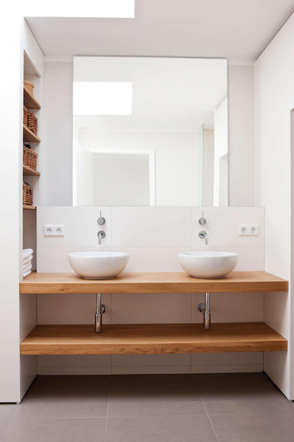 familienbad mit wasch tr gen moderne badezimmer von in design architektur homify. Black Bedroom Furniture Sets. Home Design Ideas