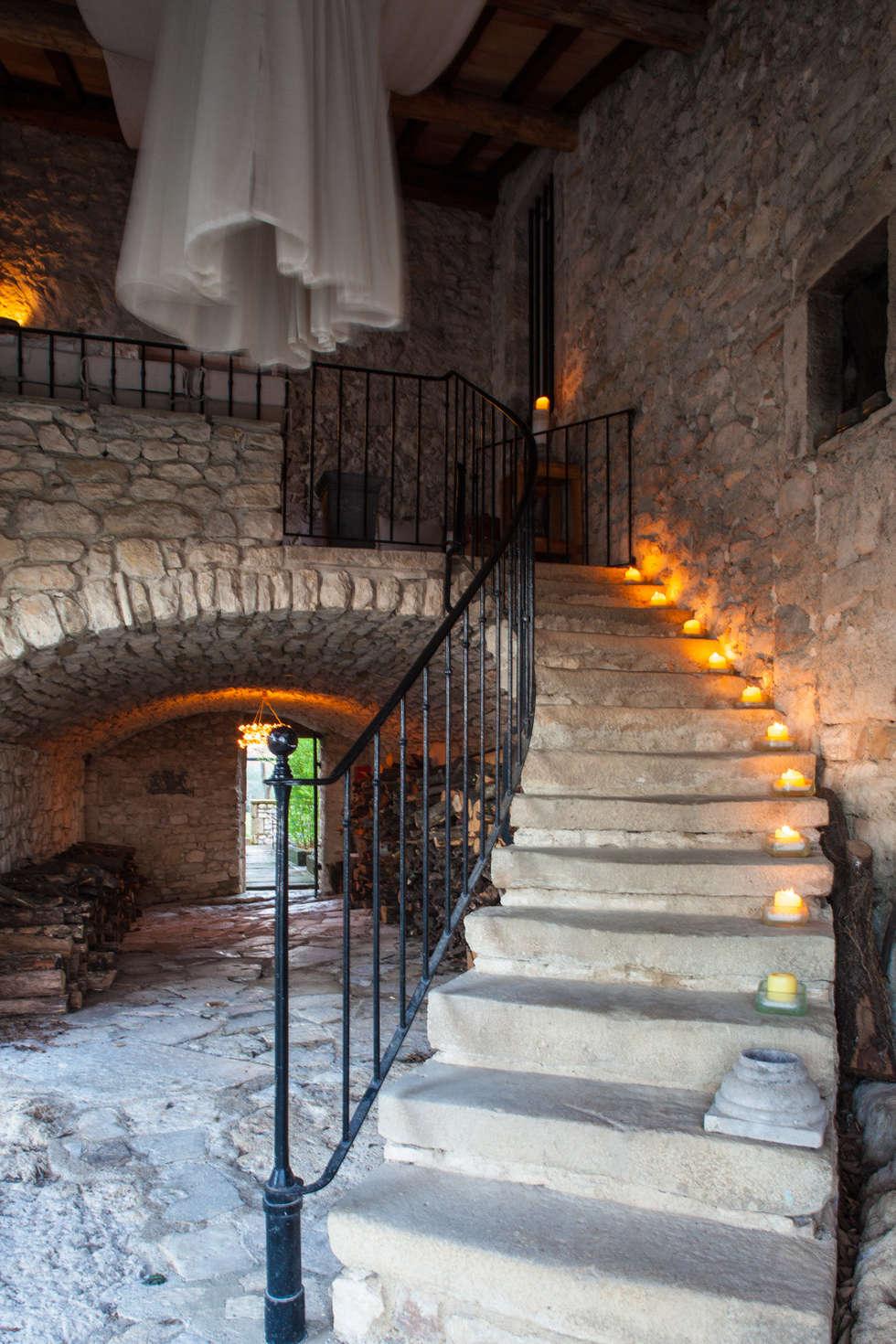 Escalier: Hôtels de style  par Franck Fouquet
