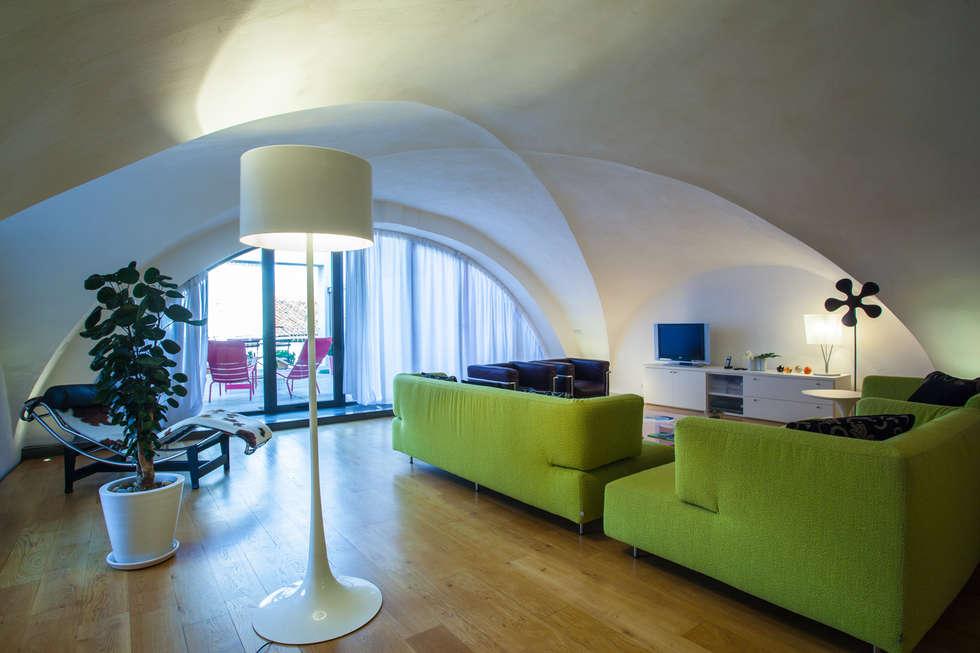 Salon: Maisons de style de style Moderne par Franck Fouquet