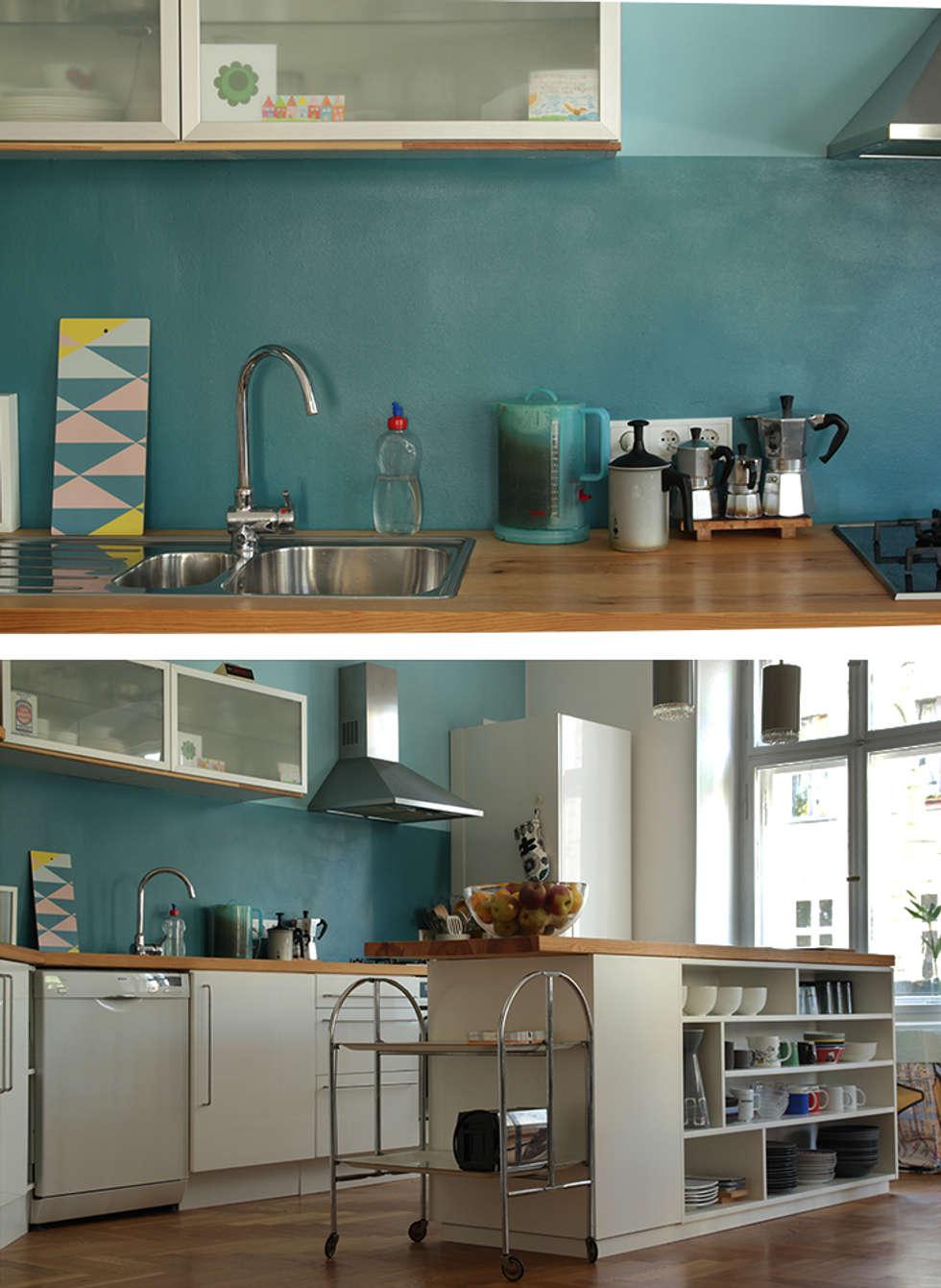 Gelbe Küche von Berlin Interior Design   homify