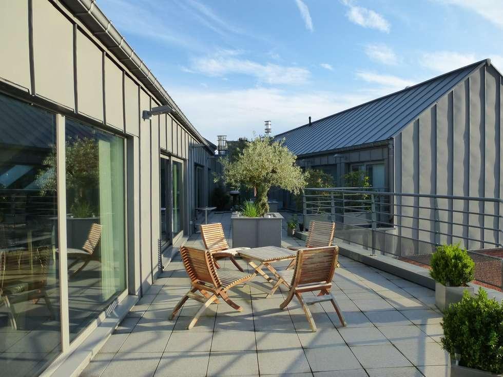 Appartement D 3.1: Maisons de style de style Moderne par URBAN NATION & GICART- RENAUD, ARCHITECTES