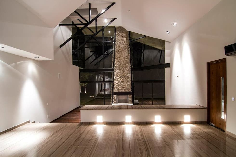 Paseo 63: Hoteles de estilo  por Sobrado + Ugalde Arquitectos