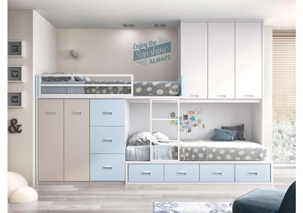 Fotos de dormitorios infantiles de estilo moderno - Dormitorios infantiles conforama ...