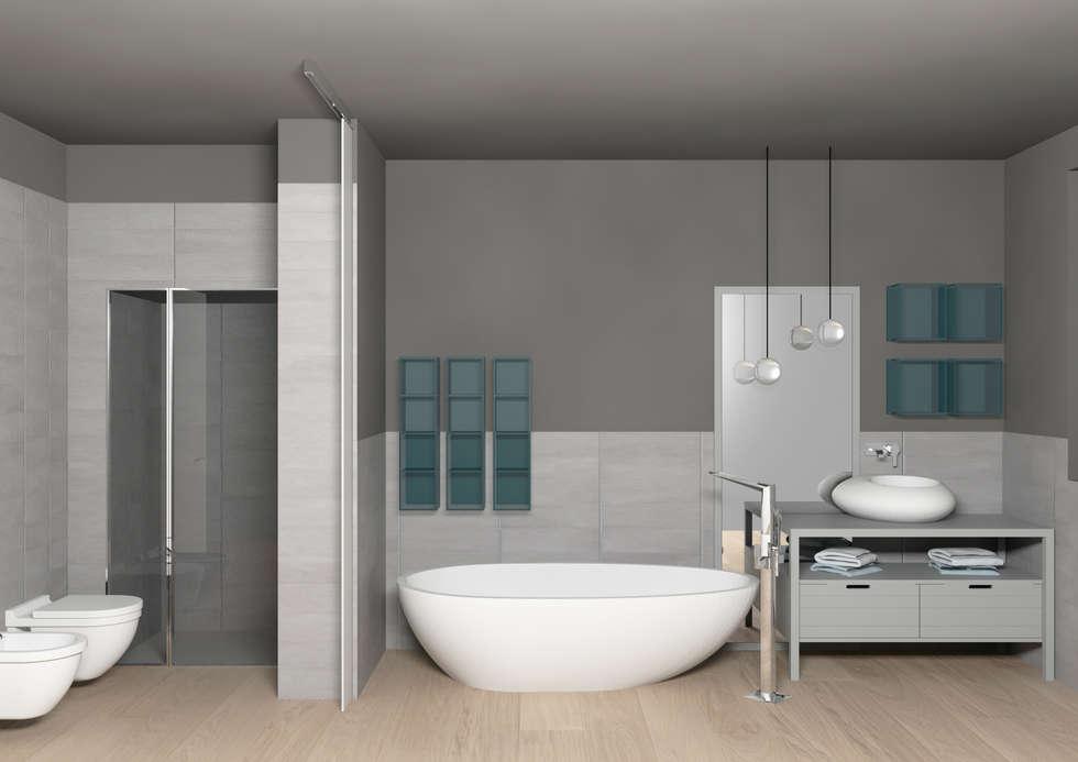 Idee arredamento casa interior design homify for Arredo bagno cesano maderno