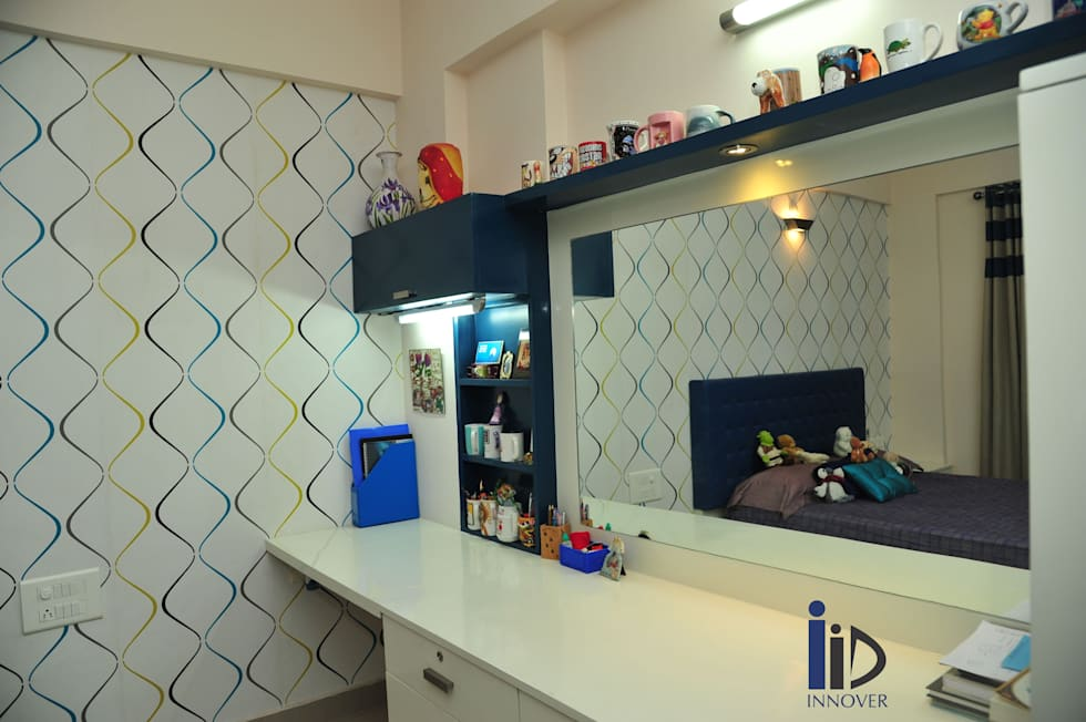 kid's bedroom:   by Innover Interior Designs