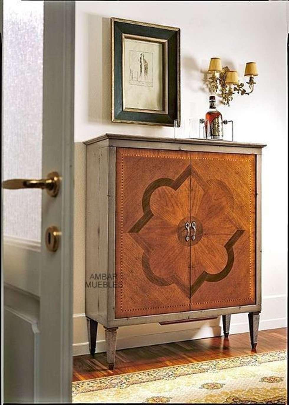 mueble bar clsico marquetera siena de estilo de mbar muebles