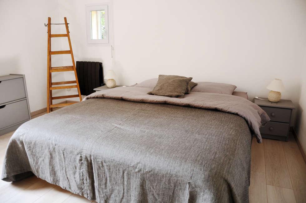 Le 16 - Chambre D 2ème étage: Maisons de style de style Moderne par Aurélie Ronfaut dite Thi-Lùu