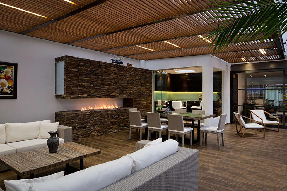 Ideas im genes y decoraci n de hogares homify for Modelos de casas con terrazas modernas