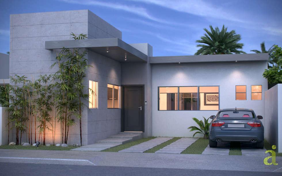 Ideas im genes y decoraci n de hogares homify for Casa minimalista veracruz
