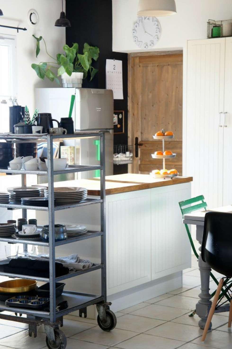 Projekty,  Kuchnia zaprojektowane przez Hege in France