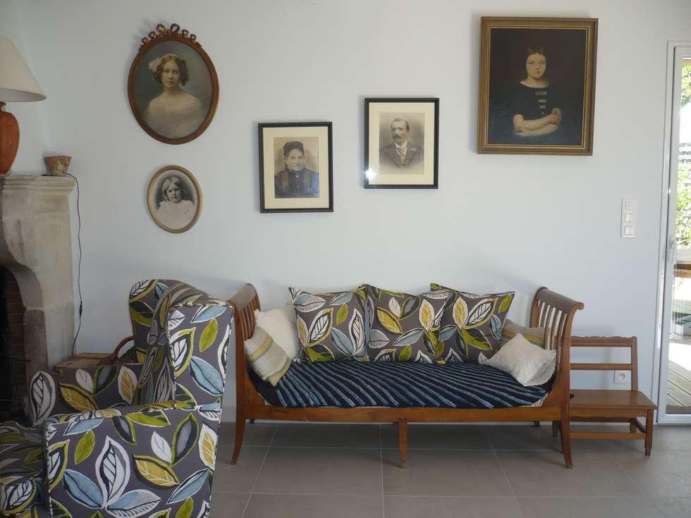 Galerie de portraits: Salon de style  par Saint Roch KA International