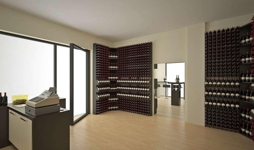 Idee arredamento casa interior design homify - Porta vini da parete ...