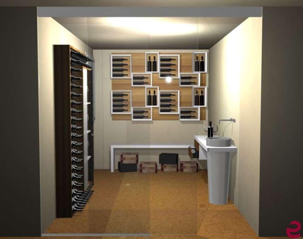 Idee arredamento casa interior design homify - Weinkeller einrichten ...