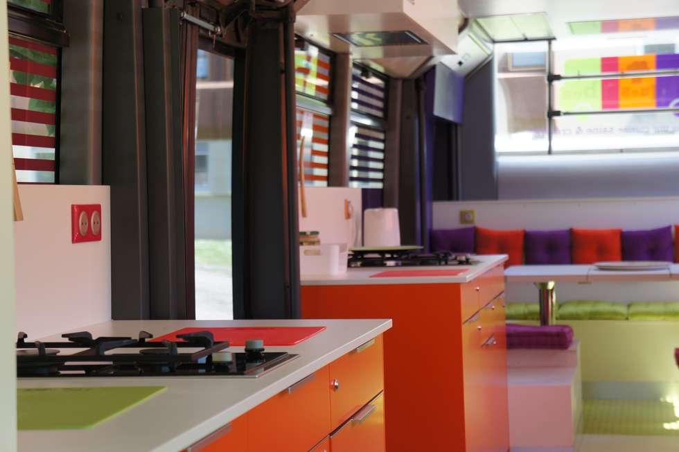 Toques et Bus: Espaces commerciaux de style  par Souffle d'intérieur
