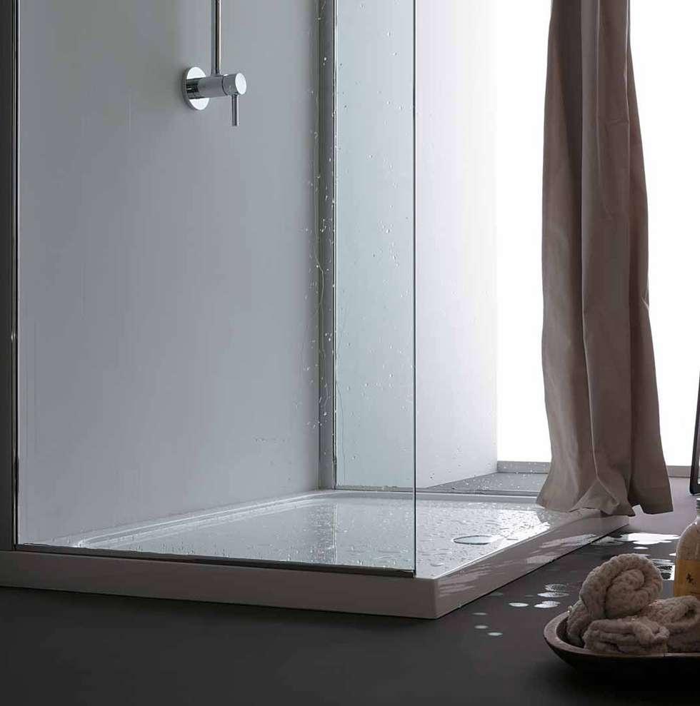 Idee arredamento casa interior design homify - Tende doccia tessuto ...