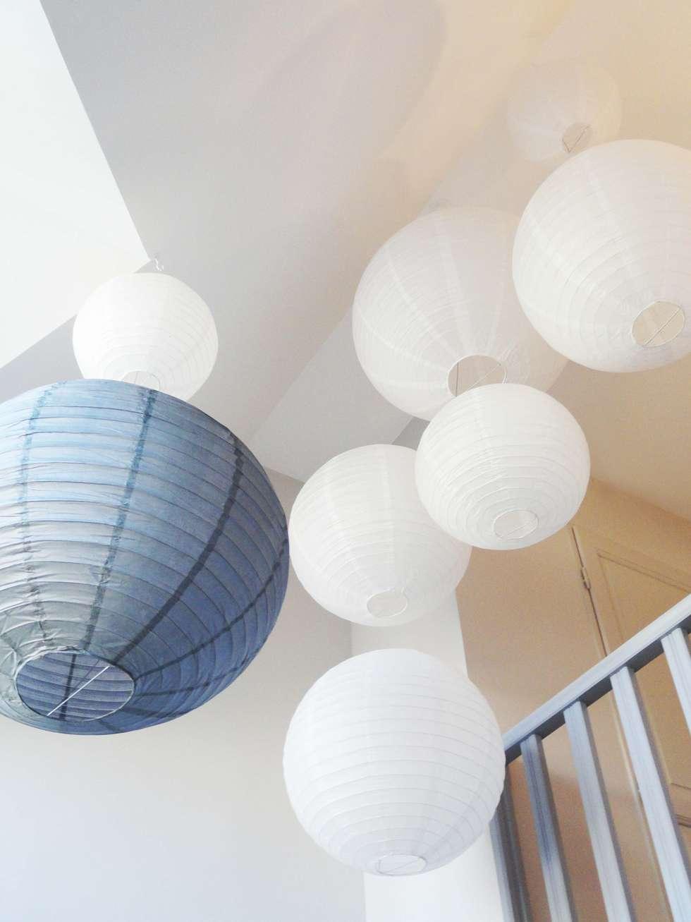 décoration cage d'escalier: Chambre de style de style Classique par agence ine