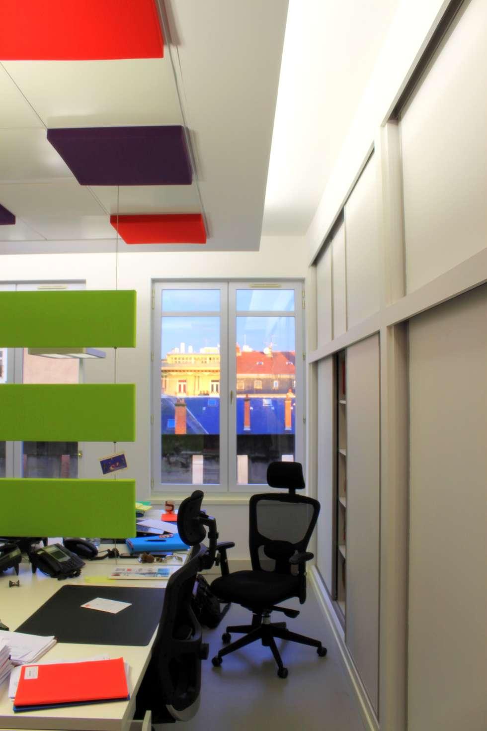 Espace de travail: Bureaux de style  par 3B Architecture