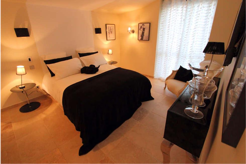 Chambre Mademoiselle Coco: Maisons de style de style eclectique par AZ Createur