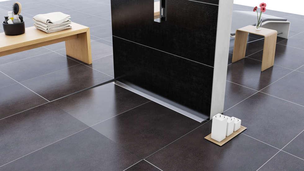 Smart Drain: Bagno in stile in stile Moderno di Profilpas