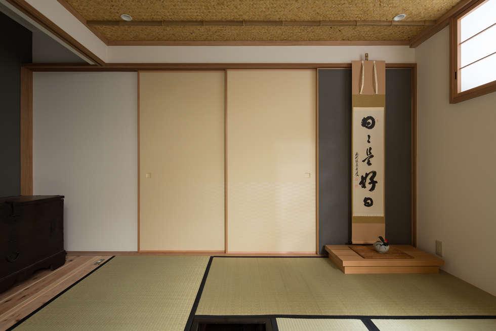 茶室: TOFUが手掛けた家です。