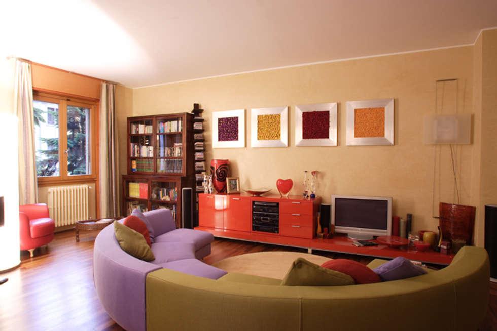 Soggiorno:  in stile  di Studio L'AB Landcsape Architecture & Building