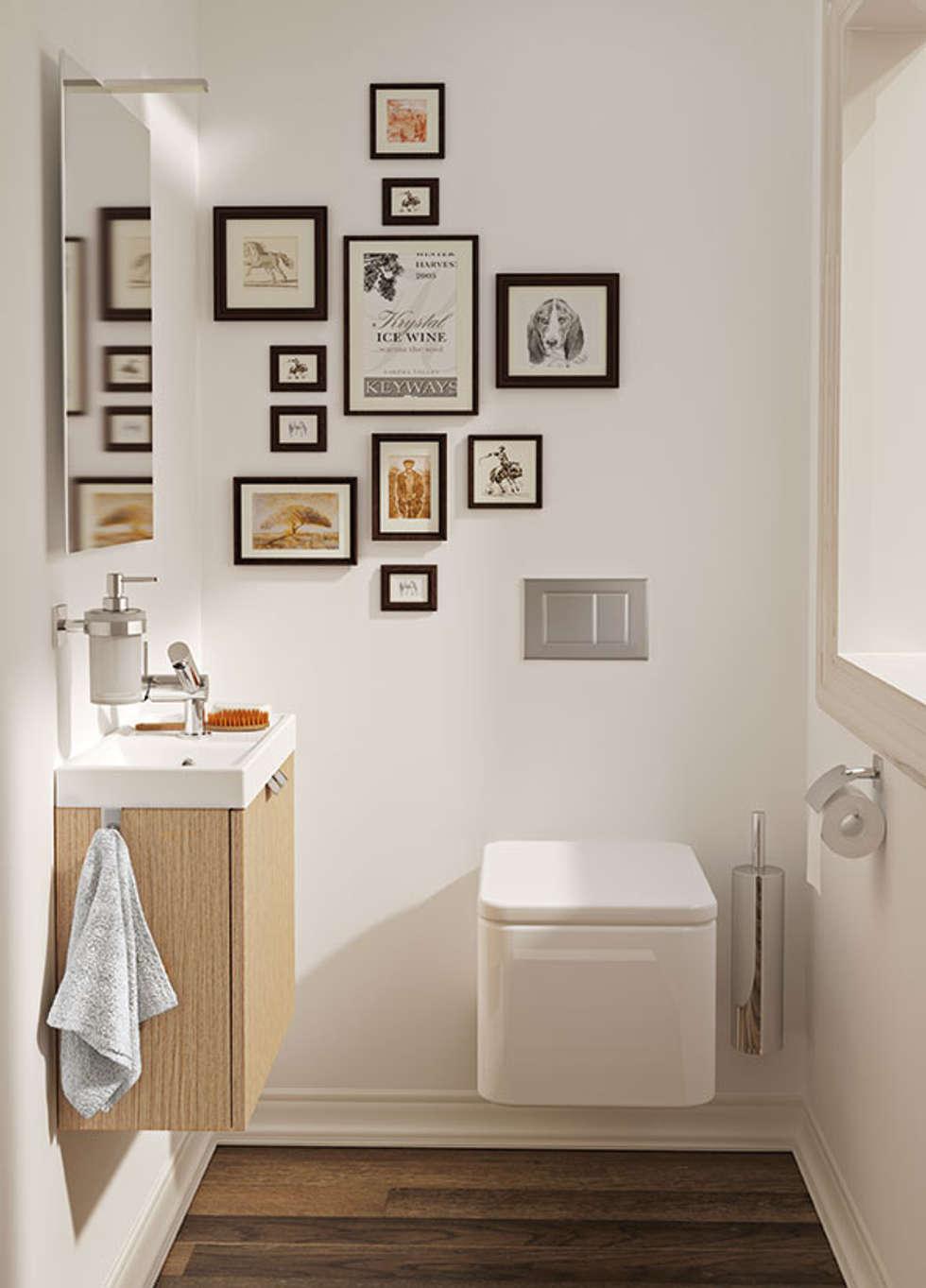 Fotos de decoraci n y dise o de interiores homify - Altura mueble bano ...