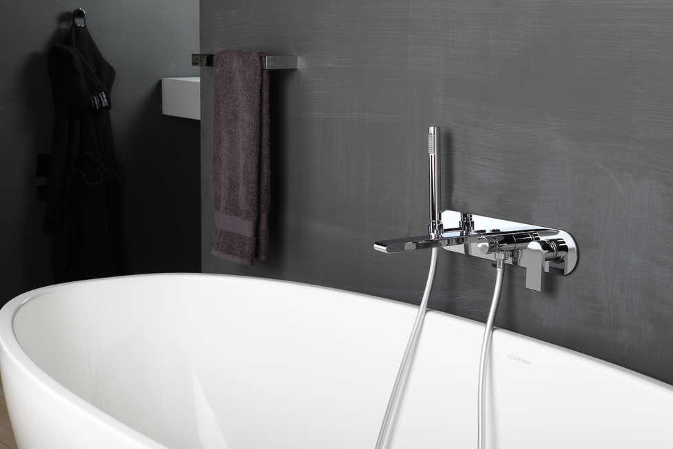 bonomi bonny miscelatore vasca da incasso a parete bagno in stile in stile moderno