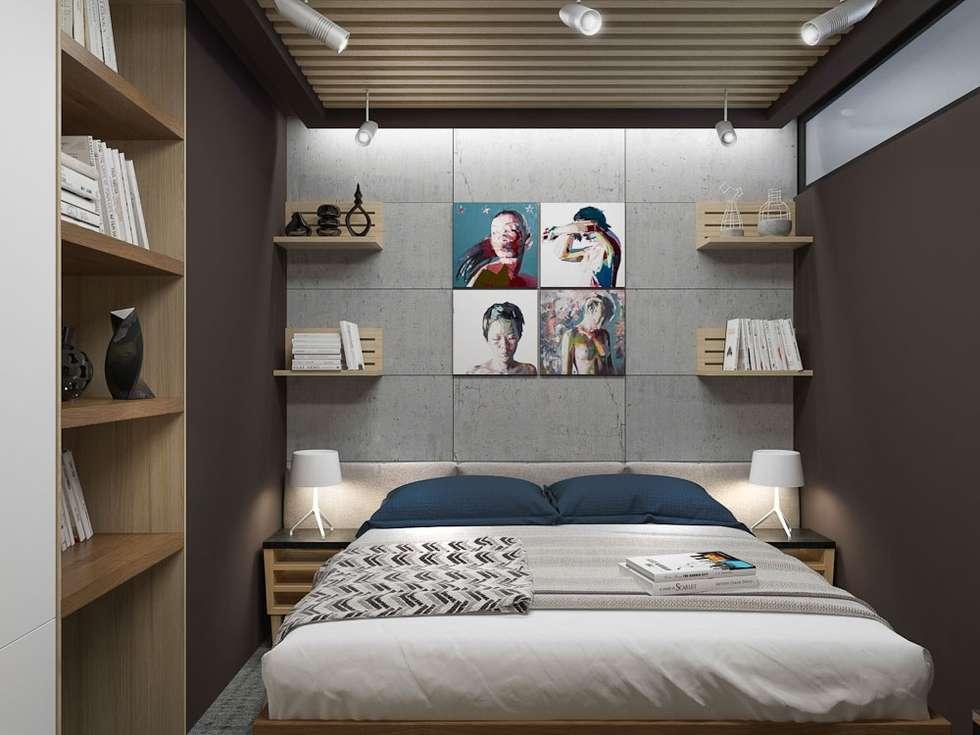 minimalistische Slaapkamer door PlatFORM