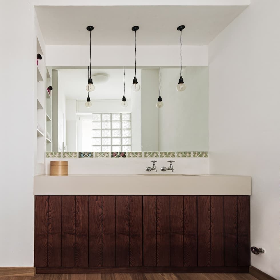 Fossati: Cuisine de style de style Moderne par Concrete LCDA