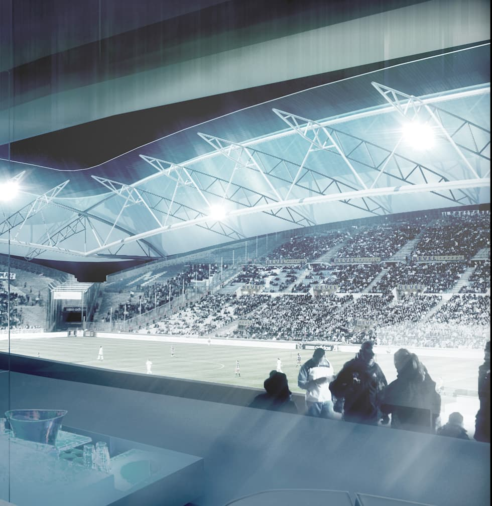 Stade Vélodrome de Marseille: Stades de style  par 5+1AA alfonso femia gianluca peluffo