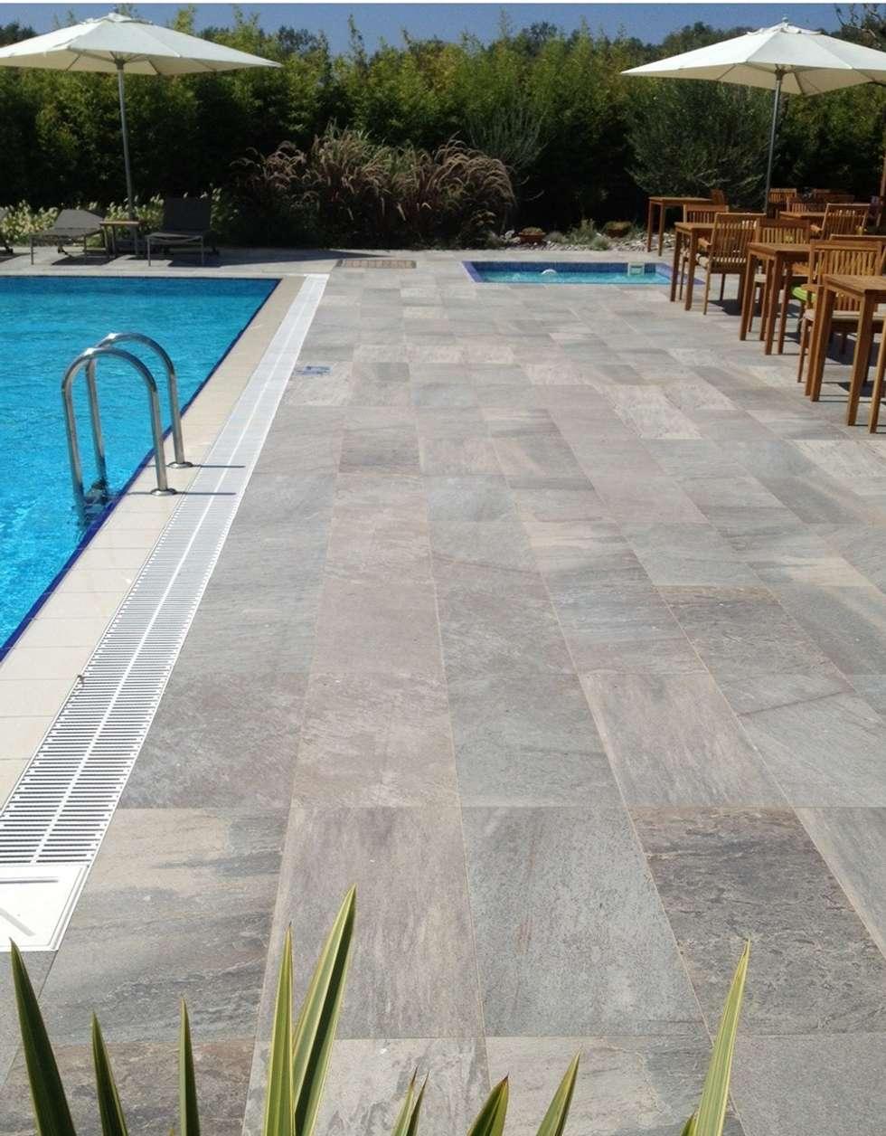 Plaza Yapı Malzemeleri – Dış Mekan & Havuz :  tarz Havuz