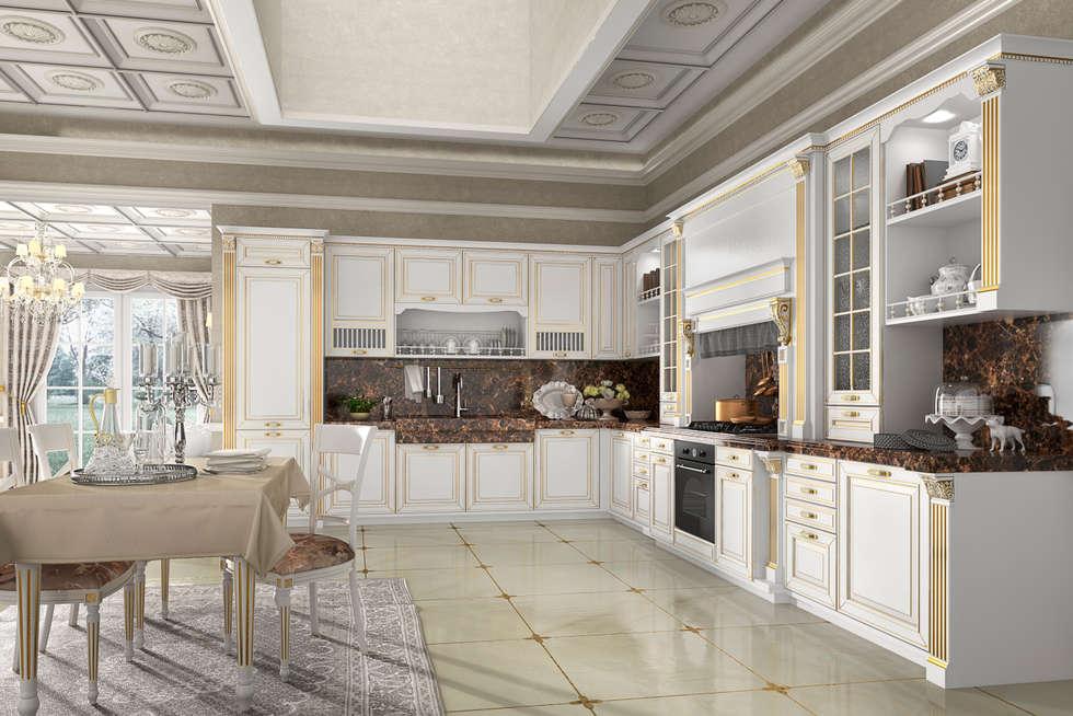Free cucina opera cucina in stile in stile classico di - Cucine a ferro di cavallo ...
