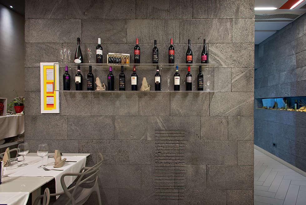 Progetto di Ristorante in Pietra Lavica: Gastronomia in stile  di Ranieri Pietra Lavica