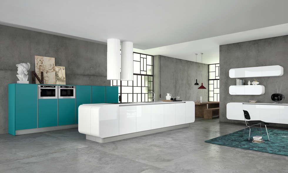 Numero Uno: Cucina in stile in stile Moderno di doimo cucine