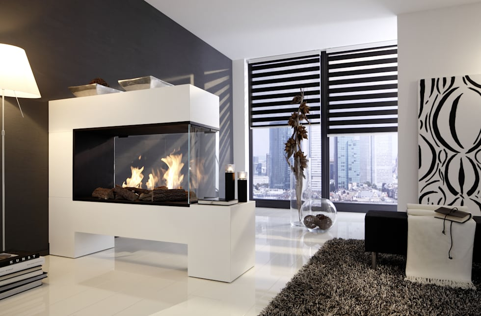 Modern Living Room By Kamin Design GmbH U0026 Co KG
