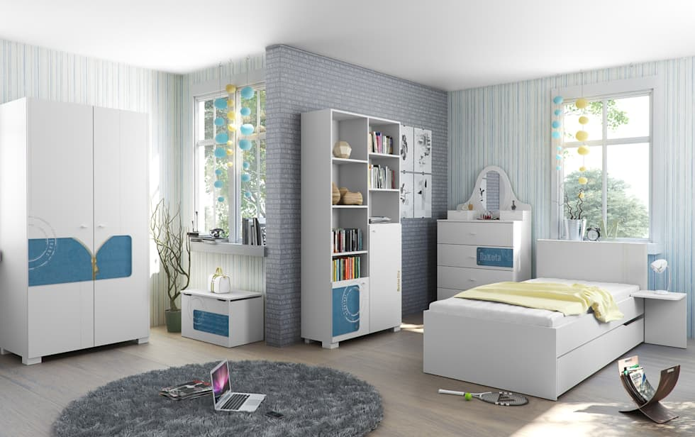 modern Nursery/kid's room by Möbelgeschäft MEBLIK