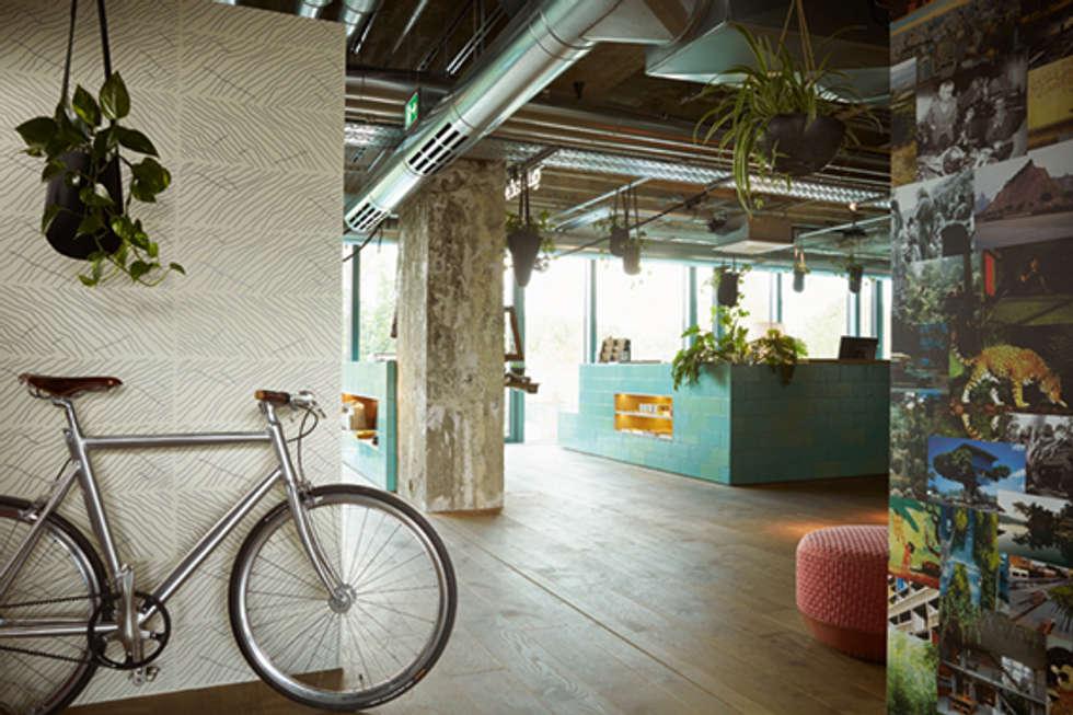 Fotos de decora o design de interiores e reformas homify - Disbar papeles pintados ...